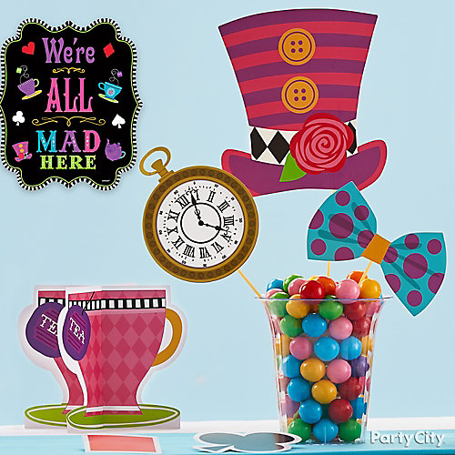 Mad Hatter Candy Display