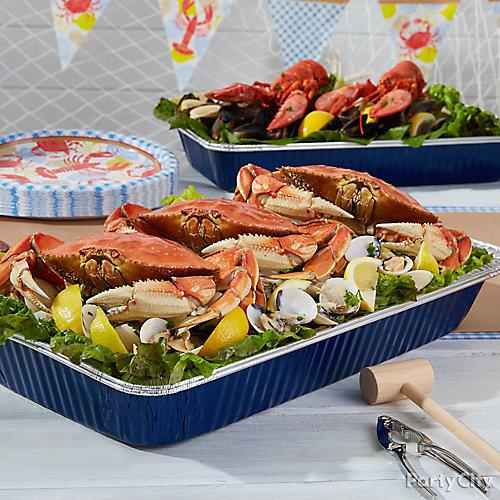 Crab Feed Serving Idea