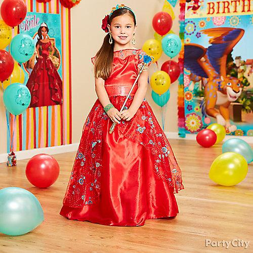 Elena of Avalor Birthday Costume Idea