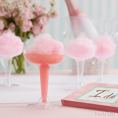 Cotton Candy and Champagne Idea