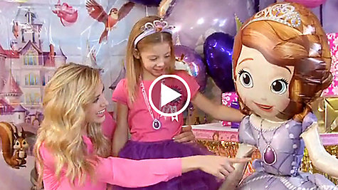 Sofia the first party ideas party city party city sofia the first party ideas solutioingenieria Choice Image