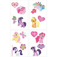 my little pony printables. My Little Pony Tattoos 1 Sheet Coloring  Activity Book Party City