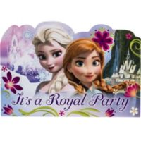Frozen party supplies frozen birthday party ideas party city frozen invitations 8ct stopboris Image collections