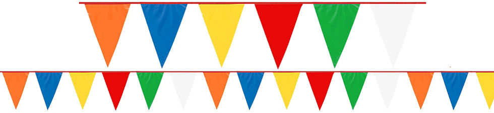 building blocks birthday banner 88in x 7in party city