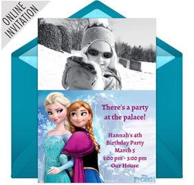 Frozen party supplies frozen birthday party ideas party city online frozen photo elsa anna photo invitations filmwisefo Images