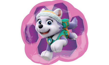 Pink Paw Patrol Balloon 17in Party City
