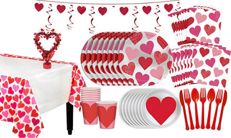 Key to Your Heart Valentine\'s Day Party Supplies | Party City