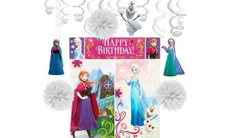 Frozen party supplies frozen birthday party ideas party city canada frozen decorating kit stopboris Image collections