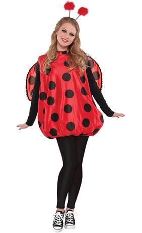 adult darling ladybug costume