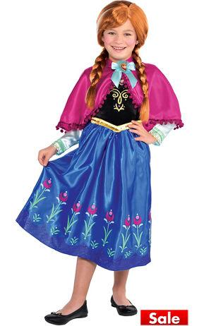 Toddler Girls Anna Costume