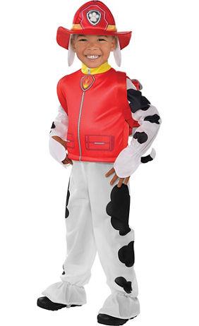 toddler boys marshall costume paw patrol