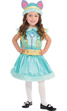 toddler girls everest costume paw patrol