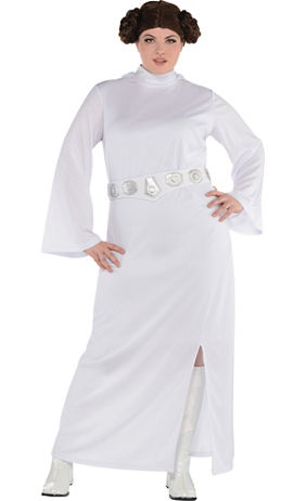 Princess Leia Costume Plus Size Star Wars