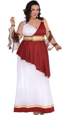 Egyptian roman greek costume accessories party city adult imperial empress costume plus size solutioingenieria Image collections