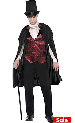 Vampire costumes for kids adults vampire costume ideas party city adult blood count vampire costume solutioingenieria Images