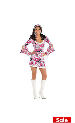 60s costumes for women hippie costumes costume ideas party city adult ivanna go go costume solutioingenieria Choice Image