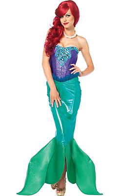 Sexy halloween costumes for women sexy costumes ideas party city adult deep sea siren mermaid costume solutioingenieria Image collections