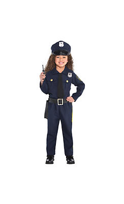 Police costumes sexy cop costumes for women party city toddler girls classic police officer costume solutioingenieria Images