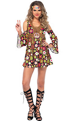 60s Costumes for Women - Hippie Costumes & Costume Ideas | Party City
