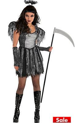 adult dreadful angel costume