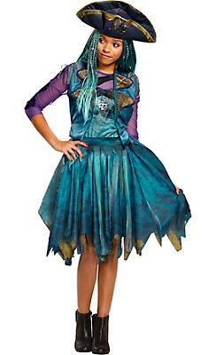 Girls new costumes new halloween costumes for kids party city girls uma costume disneys descendants 2 solutioingenieria Image collections
