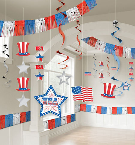 Welcome home party supplies patriotic military party for Patriotic welcome home decorations