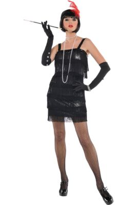 5e0c23bda59 Adult Flashy Flapper Costume