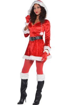 13a8c682c42ec Adult Sassy Red Santa Costume