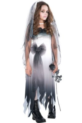 Halloween Costumes For Girls Scary.Girls Horror Gothic Costumes Vampire Costumes For Girls Party City