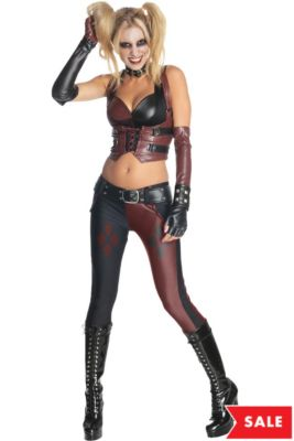566d8c5249faa Harley Quinn Costumes - Harley Quinn Halloween Costumes | Party City