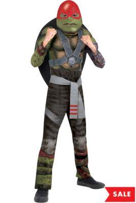 boys raphael muscle costume teenage mutant ninja turtles 2