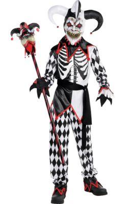boys sinister jester costume