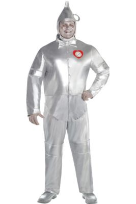 8723459d2b0db Adult Tin Man Costume Plus Size - The Wizard of Oz