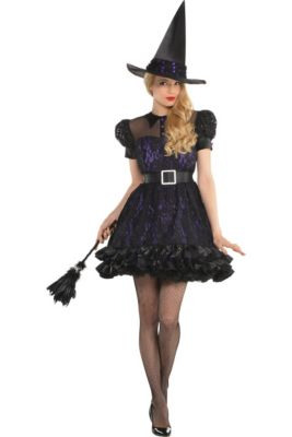 Black Magic Witch Costume