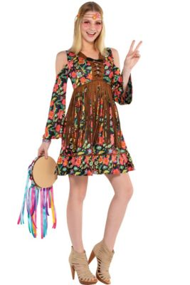 838a352fbc8b 60s Costumes - 1960s Hippie Costumes | Party City