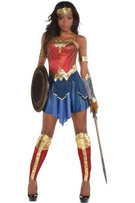 a3c0965297e5 Womens Wonder Woman Costume - Wonder Woman Movie