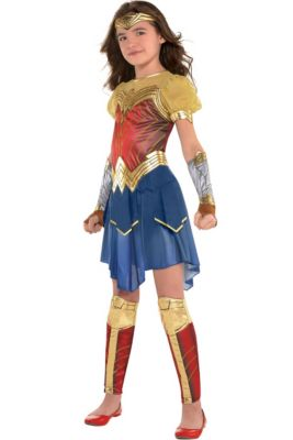 484e3b9ceff99 Wonder Woman Costumes for Kids & Adults | Party City