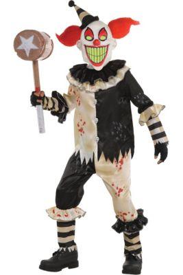 Scary Clown Halloween Costume.Boys Horror Costumes Scary Halloween Costumes For Kids Party City