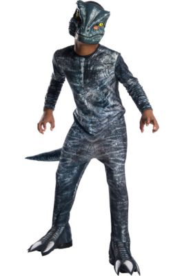 boys blue velociraptor costume jurassic world fallen kingdom