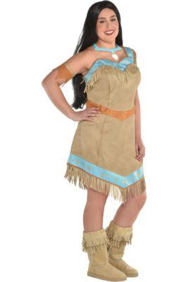 womens pocahontas costume plus size pocahontas