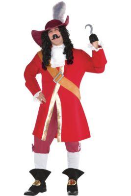 2b108fb269e86 Mens Captain Hook Costume Plus Size - Peter Pan