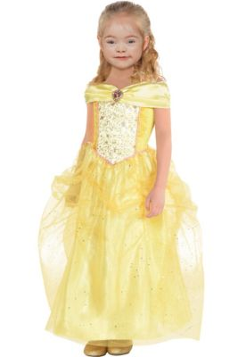 girls classic belle costume beauty and the beast