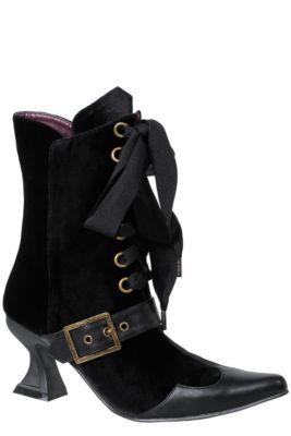 1bdd42e8b60 Womens Black Tabby Witch Boots