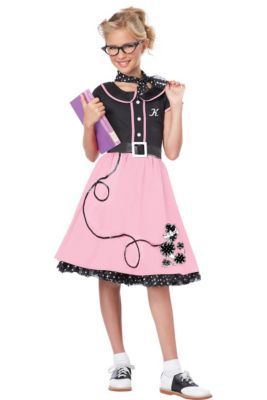 b7094ec7a976 50s Costumes - Sock Hop Costumes, Poodle Skirts & Car Hop Costumes ...