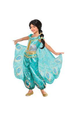 1788ad5a0aaa Child Jasmine Whole New World Costume - Aladdin
