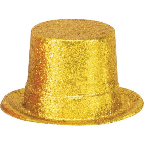 a302e05844519 Glitter Gold Top Hat
