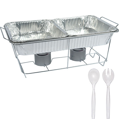 Catering Chafing Dishes Aluminum Pans Party City