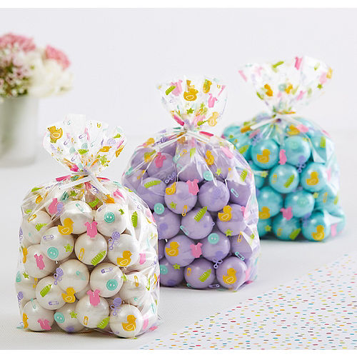 Baby Feet Shower Treat Bags 20ct