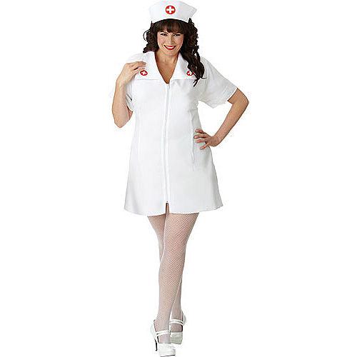 Adult Hospital Honey Nurse Costume Plus Size