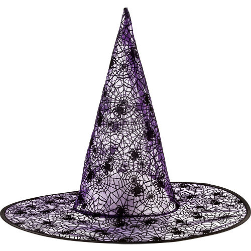 7ac9dd3380b Classic Purple Witch Hat